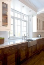 Top farmhouse sink designs for your lovable kitchen 05