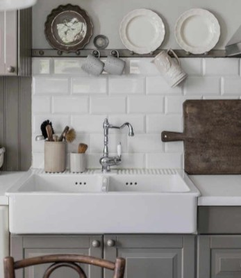 Top farmhouse sink designs for your lovable kitchen 09