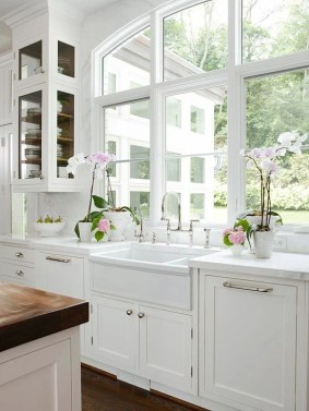 Top farmhouse sink designs for your lovable kitchen 16