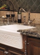 Top farmhouse sink designs for your lovable kitchen 25