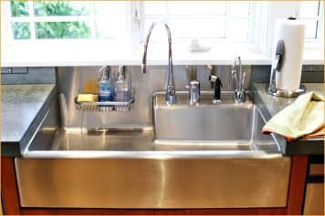 Top farmhouse sink designs for your lovable kitchen 27
