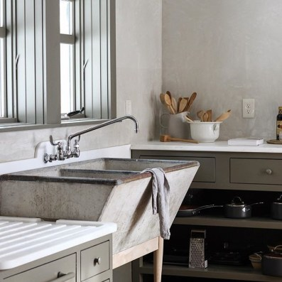 Top farmhouse sink designs for your lovable kitchen 30