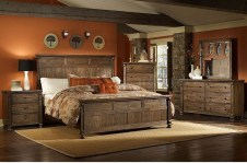 Awesome rustic bedroom furniture ideas to get the farmhouse charm 02