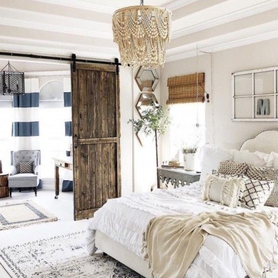 Awesome rustic bedroom furniture ideas to get the farmhouse charm 16