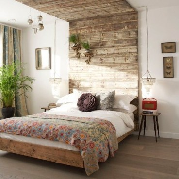 Awesome rustic bedroom furniture ideas to get the farmhouse charm 28