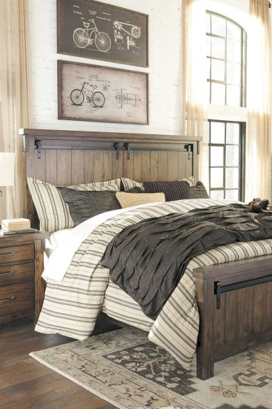 Awesome rustic bedroom furniture ideas to get the farmhouse charm 45