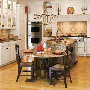 Awesome yet functional kitchen island design ideas 11