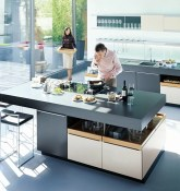 Awesome yet functional kitchen island design ideas 19