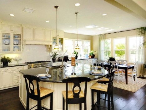 Awesome yet functional kitchen island design ideas 26
