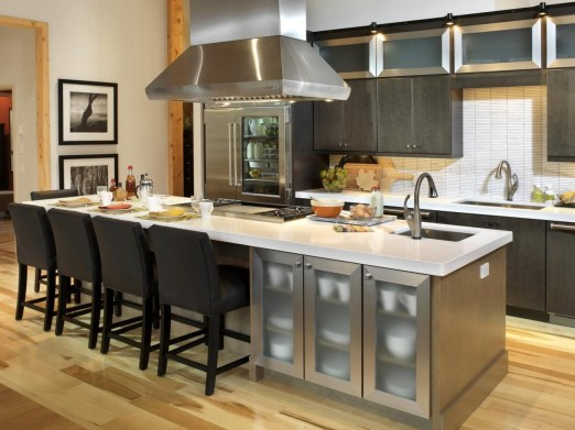 Awesome yet functional kitchen island design ideas 28