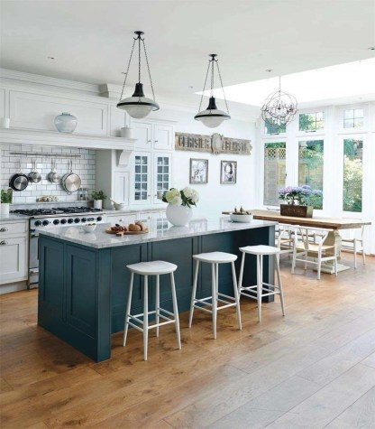 Awesome yet functional kitchen island design ideas 29