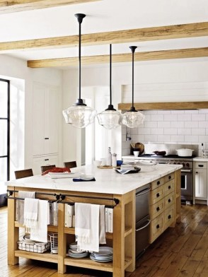 Awesome yet functional kitchen island design ideas 30