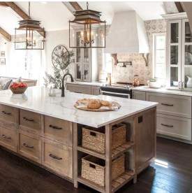 Awesome yet functional kitchen island design ideas 35