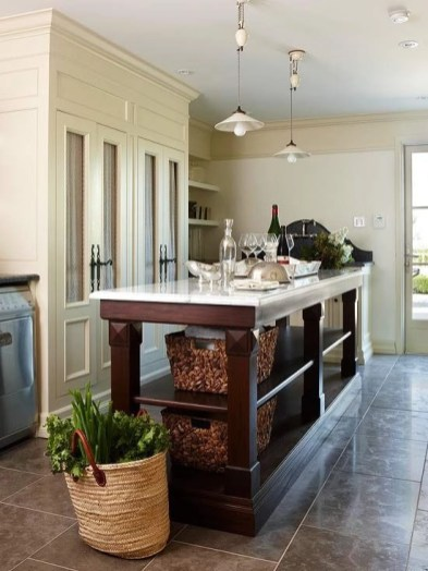 Awesome yet functional kitchen island design ideas 39