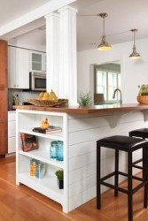 Awesome yet functional kitchen island design ideas 42