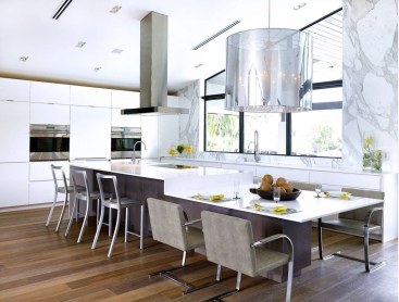Awesome yet functional kitchen island design ideas 46
