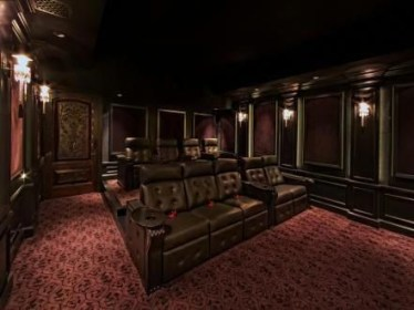 Basement home theater design ideas to enjoy your movie time with family and friends 02