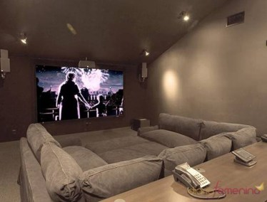 Basement home theater design ideas to enjoy your movie time with family and friends 03
