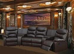 Basement home theater design ideas to enjoy your movie time with family and friends 05