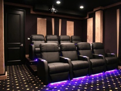 Basement home theater design ideas to enjoy your movie time with family and friends 06