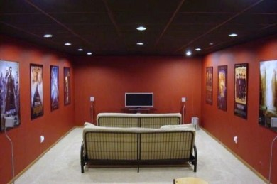 Basement home theater design ideas to enjoy your movie time with family and friends 07