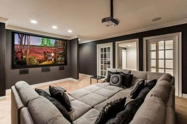 Basement home theater design ideas to enjoy your movie time with family and friends 12