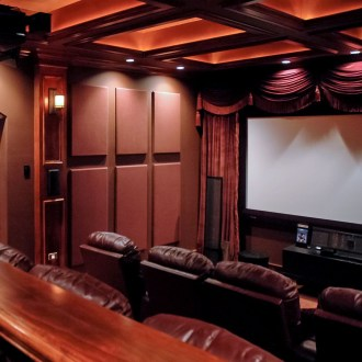 Basement home theater design ideas to enjoy your movie time with family and friends 13