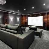 Basement home theater design ideas to enjoy your movie time with family and friends 29