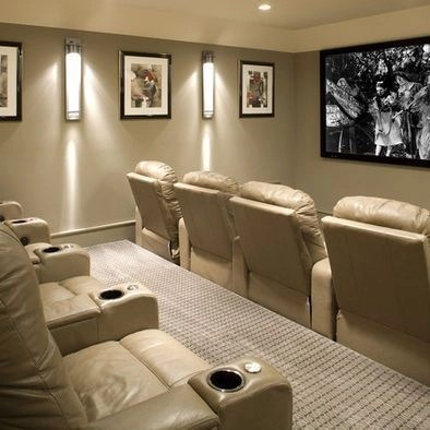 Basement home theater design ideas to enjoy your movie time with family and friends 30