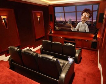 Basement home theater design ideas to enjoy your movie time with family and friends 41