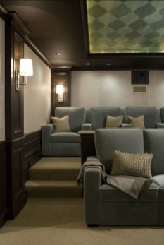 Basement home theater design ideas to enjoy your movie time with family and friends 45