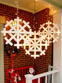 Beautiful diy christmas light decoration ideas 01