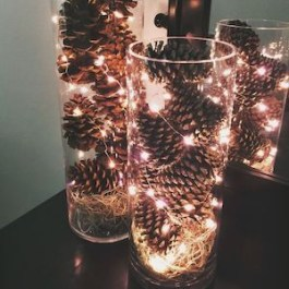 Beautiful diy christmas light decoration ideas 02