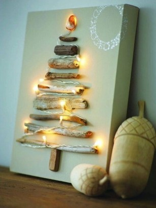 Beautiful diy christmas light decoration ideas 08