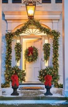 Beautiful diy christmas light decoration ideas 16