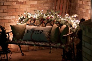 Beautiful diy christmas light decoration ideas 39