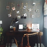 Best diy decor ideas for your home using wire wall grid 01