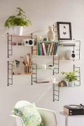 Best diy decor ideas for your home using wire wall grid 44