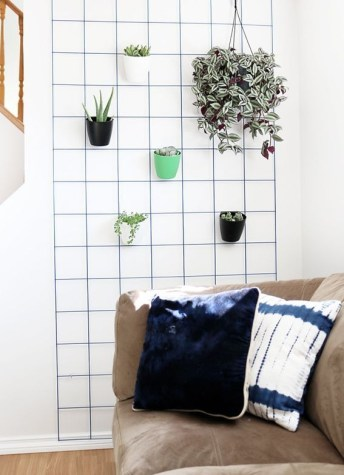 Best diy decor ideas for your home using wire wall grid 50