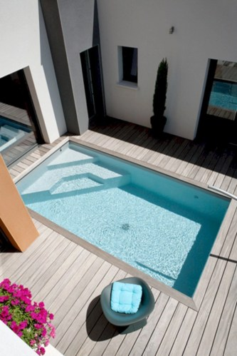 Coolest small pool ideas for your home 47