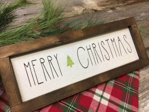 Creative diy rustic christmas decorations with wood 03