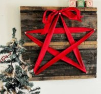 Creative diy rustic christmas decorations with wood 04