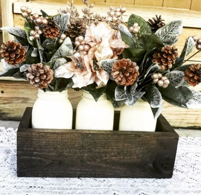 Creative diy rustic christmas decorations with wood 18