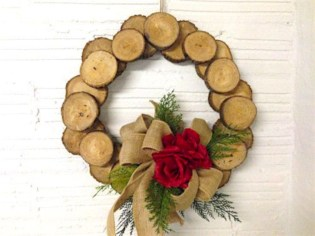 Creative diy rustic christmas decorations with wood 40