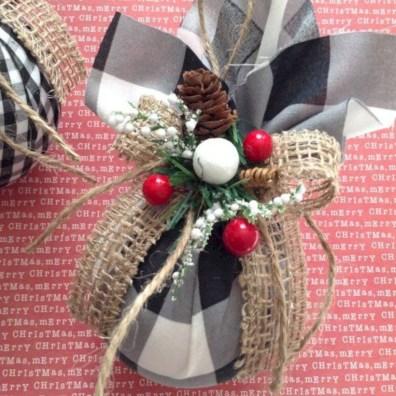 Creative diy farmhouse ornaments for christmas 06