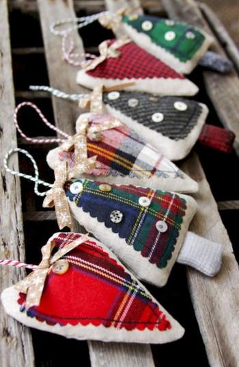 Creative diy farmhouse ornaments for christmas 21