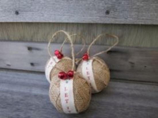 Creative diy farmhouse ornaments for christmas 28