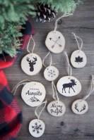 Creative diy farmhouse ornaments for christmas 33