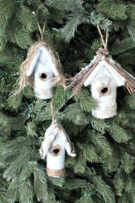 Creative diy farmhouse ornaments for christmas 41