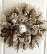 Diy christmas wreath ideas to decorate your holiday season 36